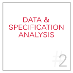 Data Analysis and Specification